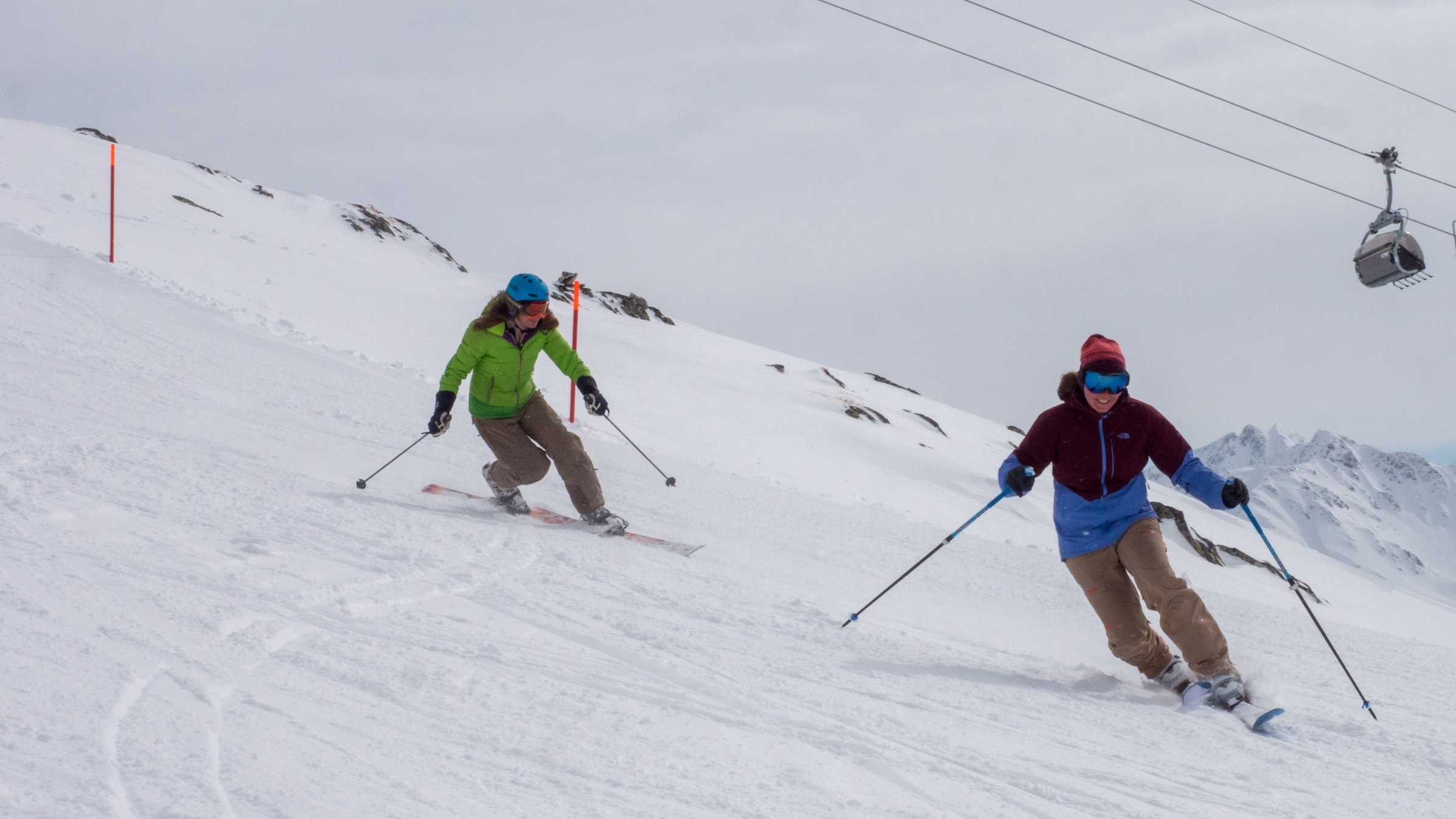 Telemark | Lesson | Freeheeling | Coaching | Schneehuenerstock