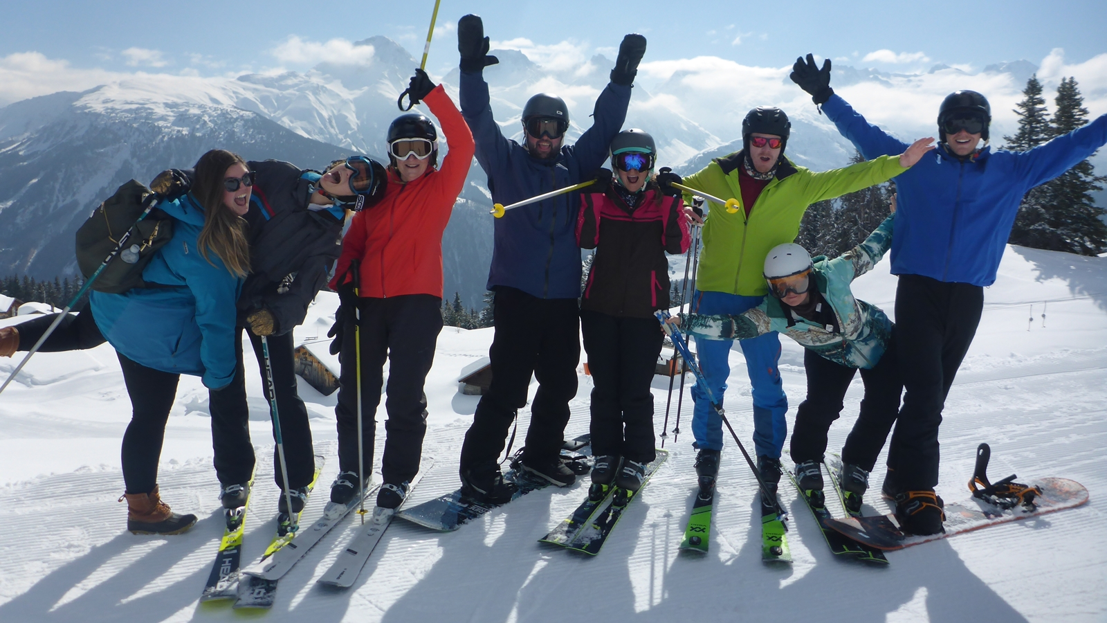 Teambuilding | Corporate Events | Fun | Skiing