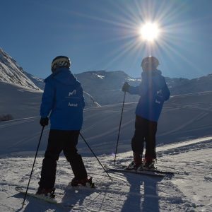 Learn to Ski; Ski Camp; Best ski lessons in Andermatt; private lessons; Ski Academy Andermatt; ski school; sun and snow; go with a pro; endless fun; patient ski instructor; learn to ski; beginner area Realp; Learn to Ski Camp; Andermatt