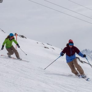 Learn to Tele with Ski Academy in Andermatt; Ski School; Telemark; Skiing; Go with a Pro; Endless Fun; Ski Technique, Weekend Escape;