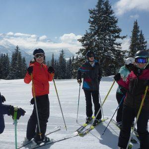 Women's Ski Camp in Andermatt; Ski Academy; girls only; Ladies skiing; ski like a girl; best ski school in Andermatt; group lesson; highlights; event;