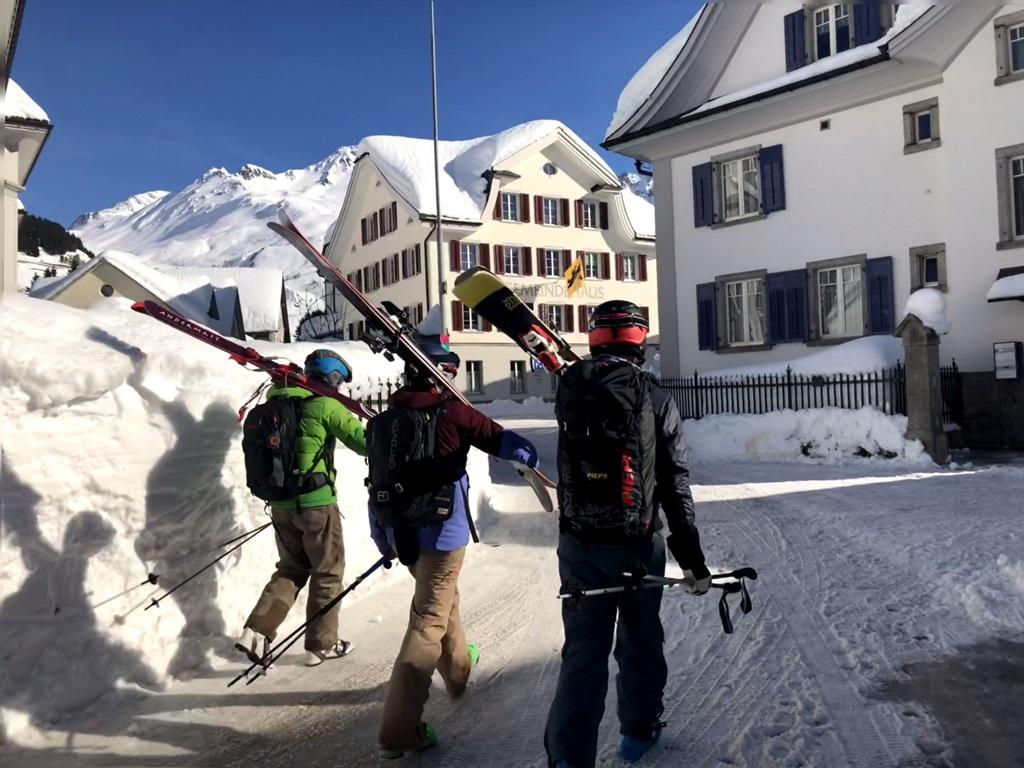 ski touring; Andermatt; Ski Academy; freeride; guiding; off-piste; ultimate adventure;