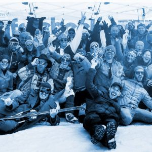 Freeheel & Chill in Andermatt; Telemark event; Ski Academy Partner; Après-Ski; Party; Telemark lesson;
