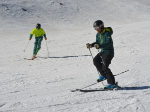Performance Ski Camp; SKi Academy; Andermat; group lesson; Ski Camp; endless fun; adults; ski technique; improvement; Best ski school