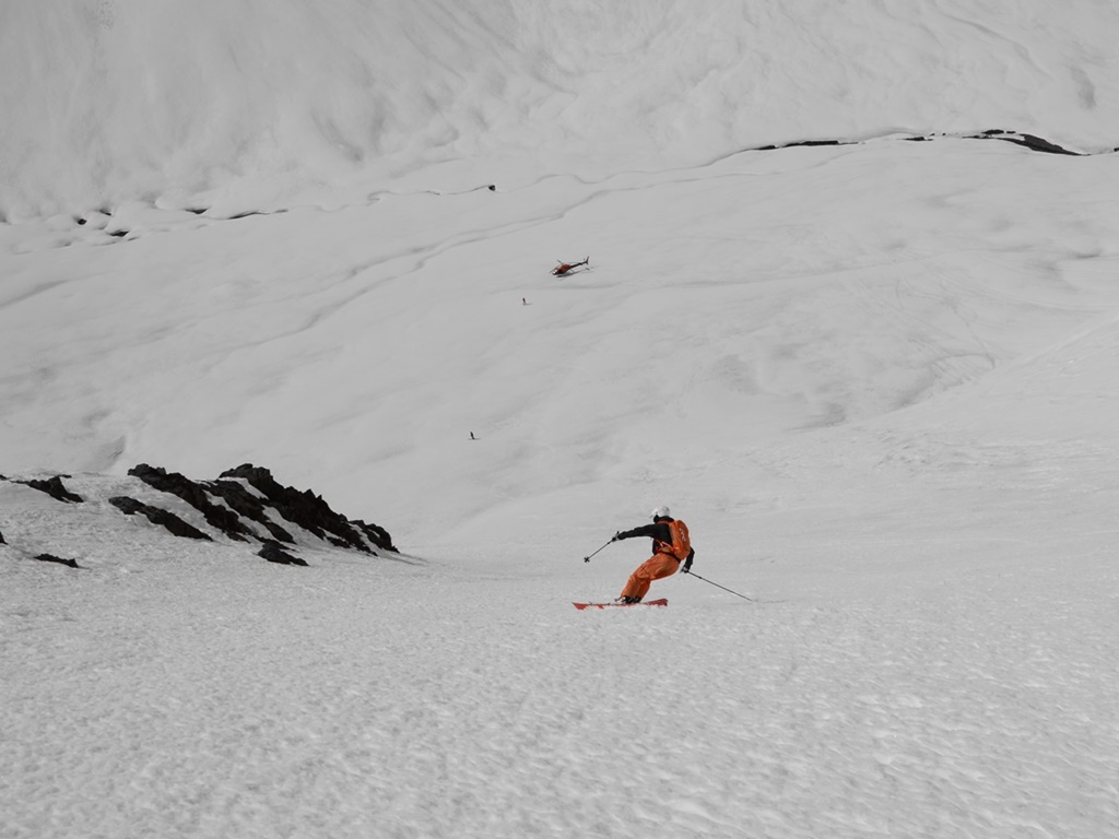 heli-skiing in Andermatt, Switzerland; Ski Academy; heli-port Erstfeld; Swiss helicopter; Sustenlimmi; panoramic flights; scenic runs; Steingletscher; once in a lifetime; Urner Alps; pass roads; Titlis;
