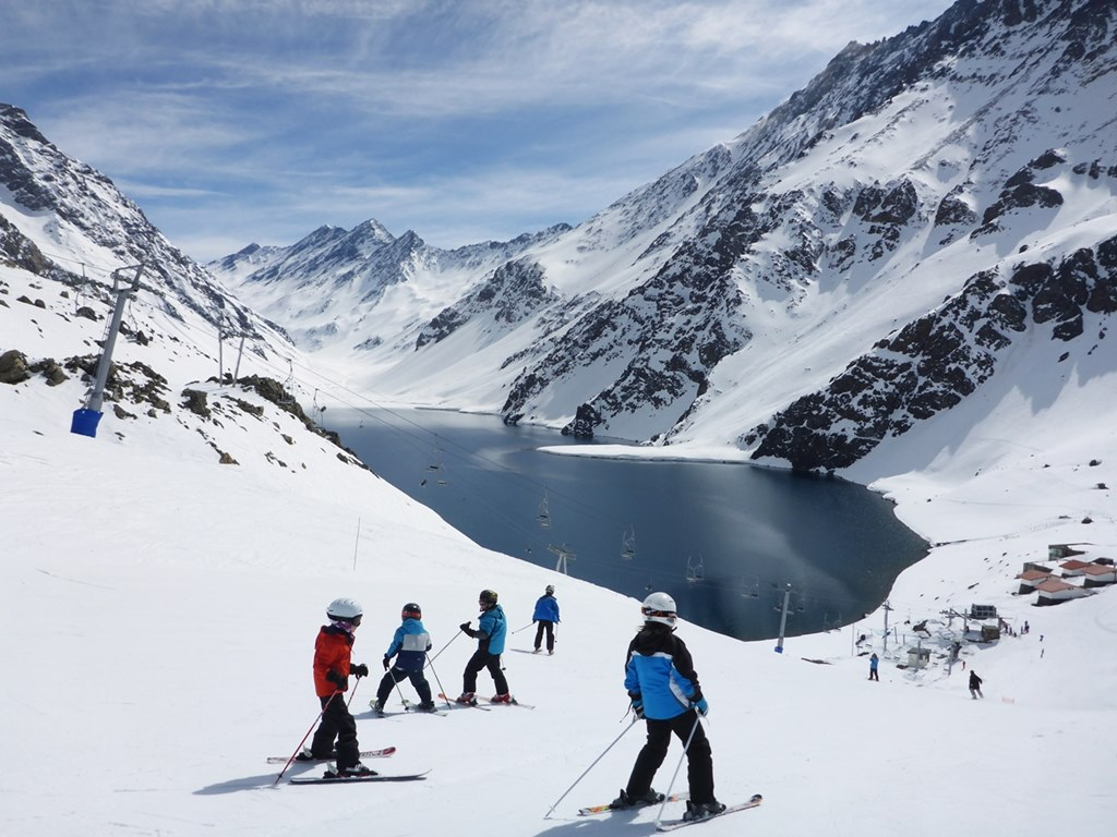 Ski Academy Summer Ski Camp for Kids and Teens in Portillo, Chile; Andermatt's best ski instructor; go with a pro; endless fun; ultimate adventure; kids group lesson; kids ski camp; ski and english camp; ski and spanish camp; patient instructors;