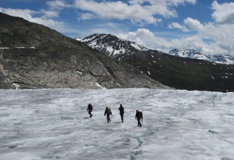 Glacier Trekking on Rhone Glacier; Aletsch Glacier; Oberaar Glacier